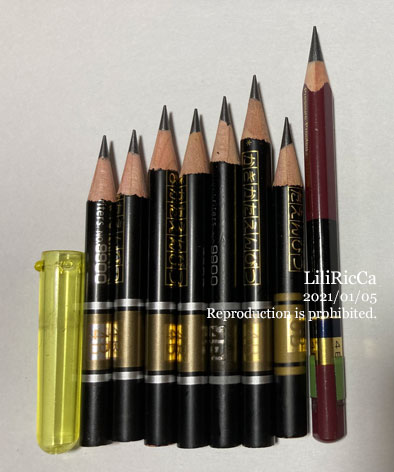 鉛筆20210105